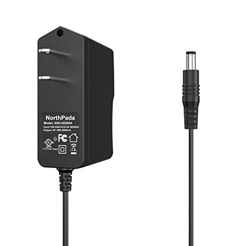 NorthPada 6V Power Supply AC Charger Adapter for Nordictrack Elliptical Trainer A.c.t. Pro Audiostrider 990 E5.5 E5.7 Treadmill 1750 A2550 C900 C2150 Incline X7i T5.5 T5.7 T7.0 X9i Exercise Bike