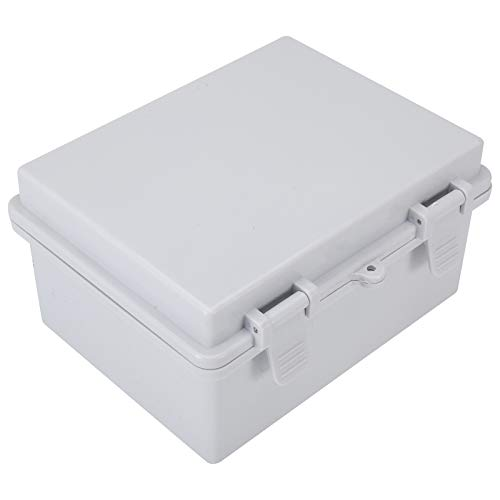Tysun ABS Project Box Electrical Enclosure Box Junction Box Electronic Project Case Power Enclosure with Lock Dustproof IP65 Waterproof (8.6