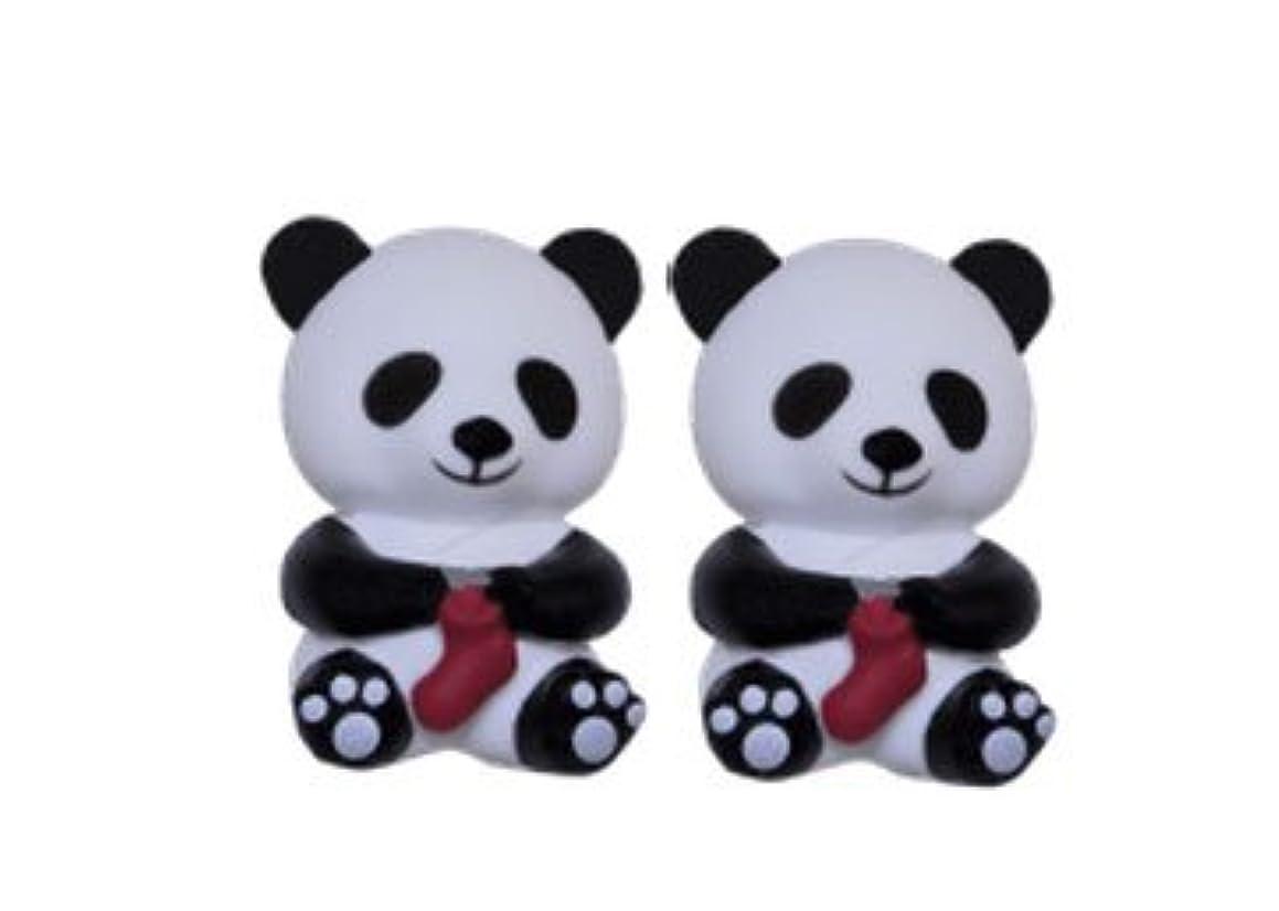 HiyaHiya Knitting Needle Point Protectors Panda (Set of 2) for Large Needles (US 9-15) HIPANDAPOINTLG