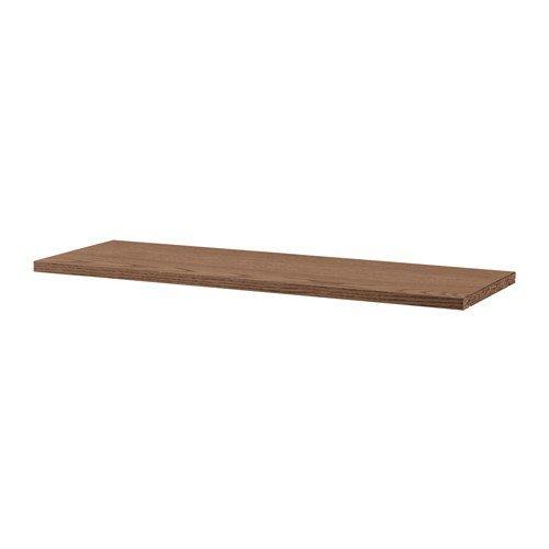 IKEA Billy Extra Regalboden in braun; aus Eschenfurnier; (76x26cm)