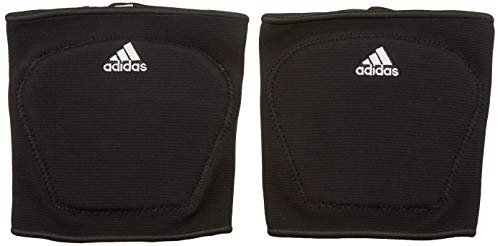 adidas S1748VB100 5-Inch Knee Pad, Black/White, Large