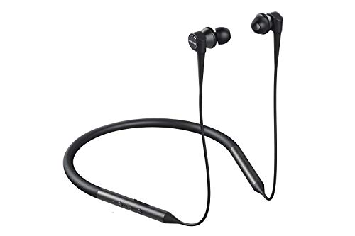 Creative Aurvana Trio Wireless – Bluetooth 5.0, Triple-Driver Neckband Headphones, aptX HD, aptX LL and AAC, Multipoint Connectivity, Noise-Isolating with Mic, Up to 20 Hrs Playtime