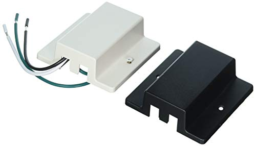 Lithonia Lighting LTFC DBL M6 Floating Feed White Track Lighting Kit with Black Cover