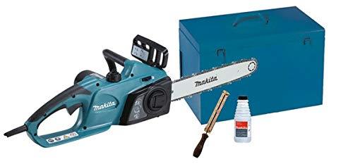 Makita UC3541AK chainsaw Azul 2400 W - Sierra eléctrica (14,5 m/s, 76,2/8 mm (3/8'), Azul, 0,2 L, 245 mm, 455 mm)