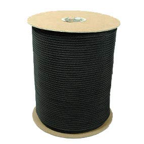 The Paracord Store | 550 Paracord - 1,000 Foot Spool Black