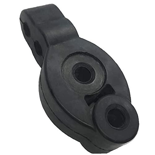 Jorzer Silenciador del Extractor De La Suspensión Absorbente De Impactos Buje del Soporte del Silenciador Aislante 4-Holes 12mm Silenciador Ajustable para El Coche Automático