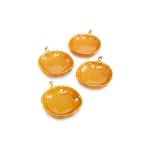 Martha Stewart Pumpkin Salt Cellar bowls set of 4 /並/行/輸/入/品
