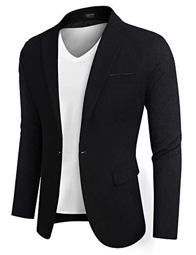 COOFANDY Men's Sportcoat Slim Fit Premium Stylish Big and Tall Suit Coat Jacket