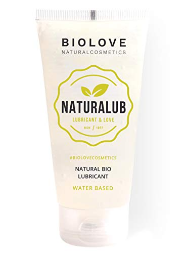 Biolove Naturalub Gel Lubricante sexual waterbased 100% natural sin parabenos, sulfatos ni siliconas.