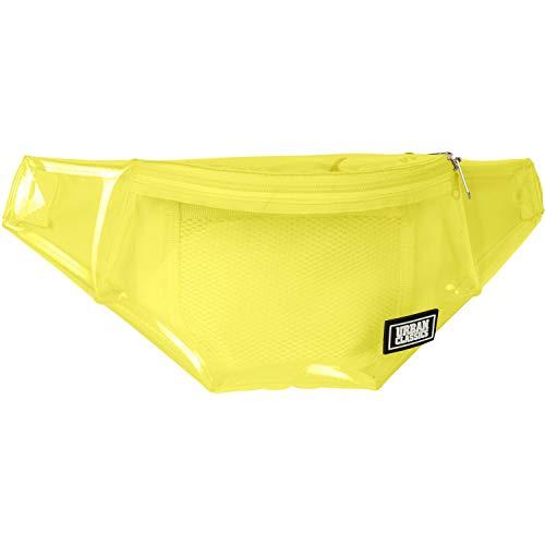Urban Classics Transparent Shoulder Bag Borsa Messenger Giallo