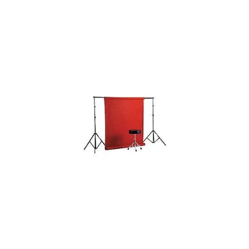 """Smith-Victor Free Standing Background Paper Rack System for 53"""" or 109"""" Rolls of Paper, Maximum Height: 9'."""