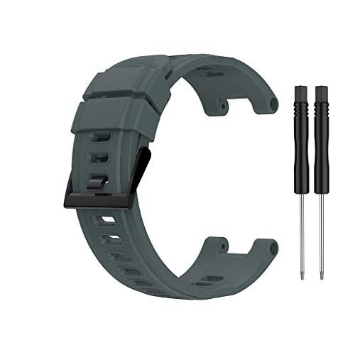 Ixkbiced Correa de Silicona de Repuesto para Reloj Inteligente Huami- Amazfit- T-Rex A1918