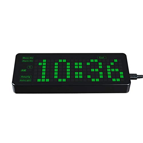 Rectangle Electronic Clock For Raspberry Pi Pico, Accurate RTC, LED Digits for...