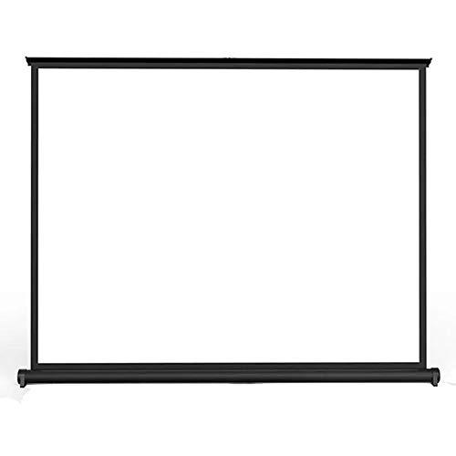 Projektor-Bildschirm 50-Zoll-faltbarer Desktop-Mini 16.10 Projektor-Projektions-Heimkino-Film-Anzeigeschirm-Vorhang-Projektor-Projektions-Schirm Wandprojektion ( Color : White , Size : 50 Inch )