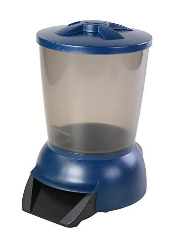 AquaForte Futterautomat Fish Feeder wahlweise mit Batteriebetrieb und/oder 12 V Trafo
