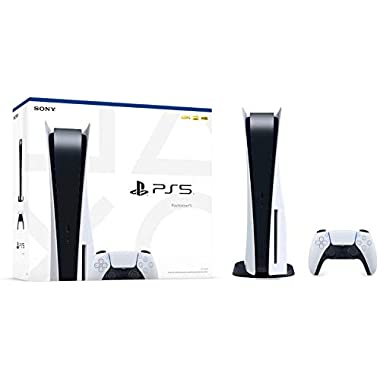 PS5 – Sony Playstation 5 Console New 825GB SSD Console Disc Drive Version with Wireless Controller – AMD Ryzen Zen 8…