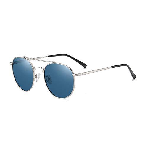 FRRPSG Sonnenbrille Herren Square Retro Designer Polarisierte Sonnenbrille Schutzbrille für Herren