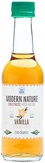 Modern Nature Vanilla Coffee Syrup - Sugar Free 250ml