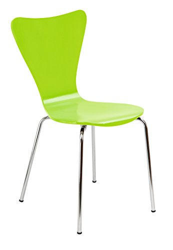 Legare Furniture Perfect Sit Bent Ply Chair, Lime Green