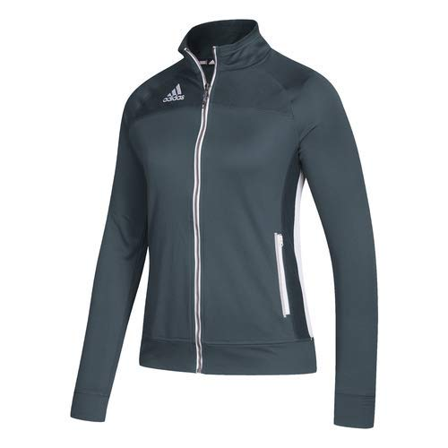 adidas Women's Climalite Utility Jacket - Onix/White - Small