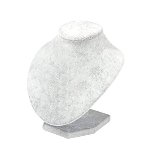 Colcolo Soportes de Exhibición de Joyería de de Madera para Collares de Almacenamiento Hebillas - tal como se describe, 15x15x12cm