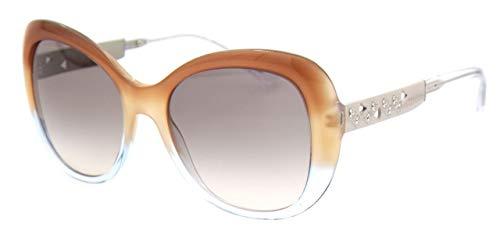 Bulgari Damen 0Bv8199B 54383B 55 Sonnenbrille, Braun (Brown Beige/Pink Grey)