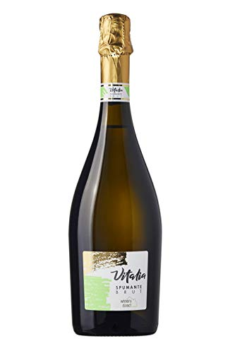 [Amazon限定ブランド] 【軽やかなレモンの香りのキリっとスパークリング】 SOLIMO ヴィタリア・スプマンテ・ブリュット・ルビコーネ・I.G.P. 750ml [イタリア/スパークリングワイン/辛口/winery direct] 【Amazonブランド】