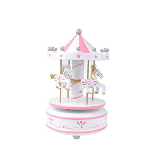 GZQDX Music Box Holz Vintage Wind Up Musical Box Melody Box Desktop Ornament Geschenk for Festival Geburtstag Anniverasy
