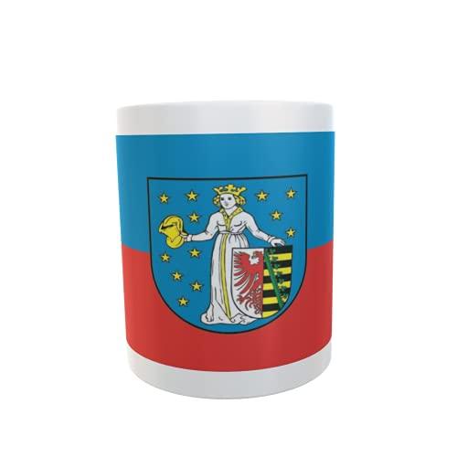 U24 Tasse Kaffeebecher Mug Cup Flagge Coswig-Anhalt