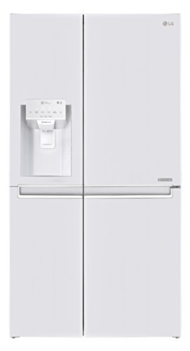 LG Electronics GSJ 761 SWXZ Side by Side Kühlschrank  / A++ / 179 cm / 376 kWh/Jahr / 405 L Kühlteil / 196 Gefrierteil / Total No Frost / weiß
