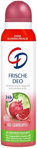 Desodorante en spray orgánico de granada, 150 ml