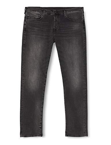 True Religion Rocco Jeans, Black, 30 para Hombre
