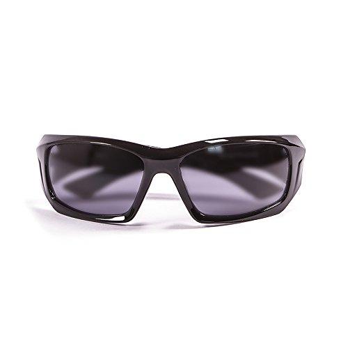 Ocean Sunglasses Antigua - Gafas de Sol polarizadas - Montura : Negro Brillante - Lentes : Ahumadas (3300.1)