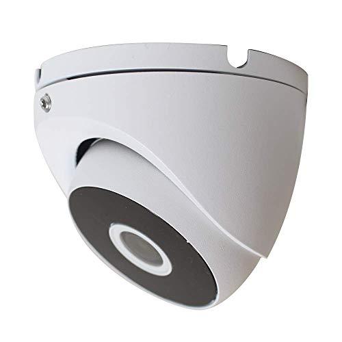HDView 2.4MP (HD-TVI/AHD/CVI/Analog) 4-in-1 Dome Camera 1080P Outdoor Indoor Turbo Platinum 2.8mm Fixed Lens IP66 Night Vision Black Film Matrix EXIR LED CCTV Security Surveillance System