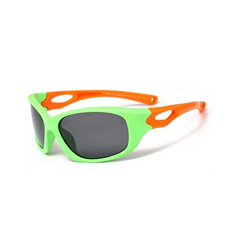 Sunglasseslifes Sunglasseslifes Kinder klassisch polarisierte Sonnenbrillen Silikon-Material, sicher und sicher-UV400 Schutz Unisex,1