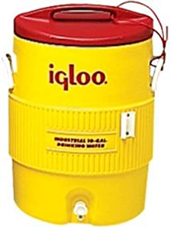 Igloo 385-451 400 Series Coolers, 5 gal, Red/Yellow