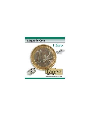 Magnetic Coin (1 Euro w/DVD)E0020 by Tango - Trick