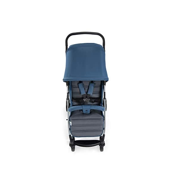 Hauck Rapid 4, 0 Months to 22 kg, Foldable, Compact, with one Hand, with Sleep Position, Height Adjustable Handle, Large Basket - denim/grey, Rapid 4, Up to 25 Kg Hauck Easy folding this pushchair is as easy to fold away as possible - the comfort stroller can be folded with one hand only within seconds, leaving one hand always free for your little ray of sunshine Long use this buggy can be used for a very long time. it is suitable from birth (also compatible with 2in1 carrycot or comfort fix infant car seat) up to a maximum of 22kg Comfortable back friendly push handle adjustable in height, the hood extendable; suspension, swivelling front wheels, soft padding, and large shopping basket 11