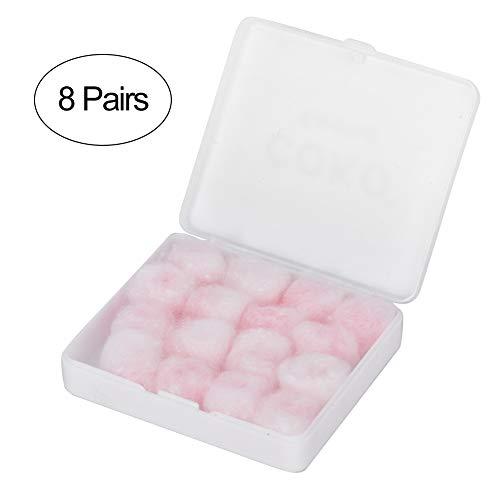 Wax katoen oordopjes - Noise Reduction Waterproof oordopjes voor Adault Child gehoorbescherming oordopjes (roze)
