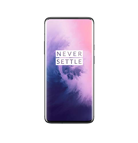 OnePlus 7 Pro Dual Sim Factory Unlocked GM1917 (ATT, Verizon. Tmobile) - US Warranty (Mirror Gray, 8GB/256B)