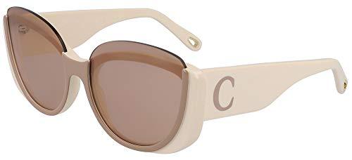 Chloé Gafas de Sol CAYLA CE754S WHITE/BROWN 59/17/140 mujer