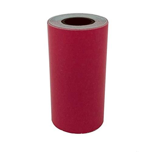 Schimer etiketten 57 x 30 mm zelfklevend, verzendsticker/verzendlabels, bedrukbare sticker-papierrol kassapapier voor papierang, mini wireless mobiele instant printer, thermo-kassarollen roze