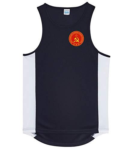 Nation CCCP Sowjetunion Trikot Tank Top Athletic Sport Gym ATH FH-SC (L)