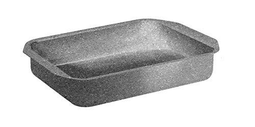 Rostiere Teglia Forno Rettangolare Effetto Pietra Madame Antiaderente 25x18cm 30x22cm 35x25cm (30x22 cm)