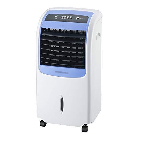 GGYMEI-Aire acondicionado portátil Bajos Humidificadores Rueda Universal Refrigerador De Aire Pequeño, De Material Plástico, 2 Colores (Color : Blue-37.5x32x76.5cm)