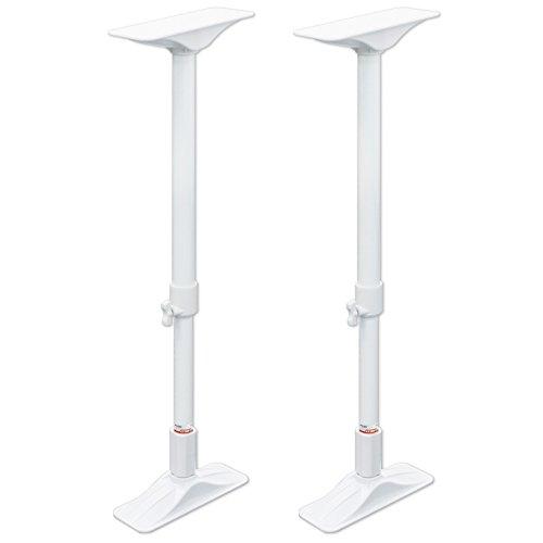 平安伸銅工業 家具転倒防止突っ張り棒 LL ホワイト 取付高さ65~100cm 耐圧200kg REQ-65