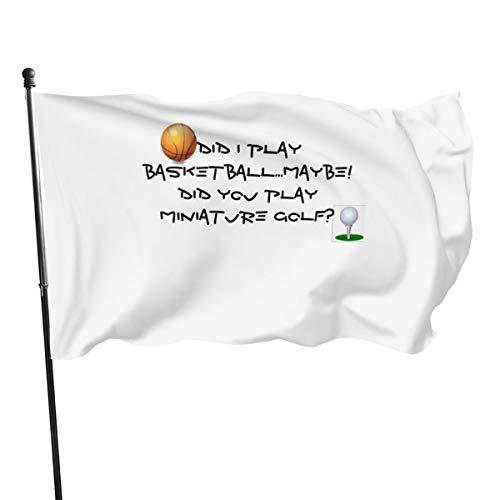 Generic Marken Basketball-Miniatur-Golf-Flaggen