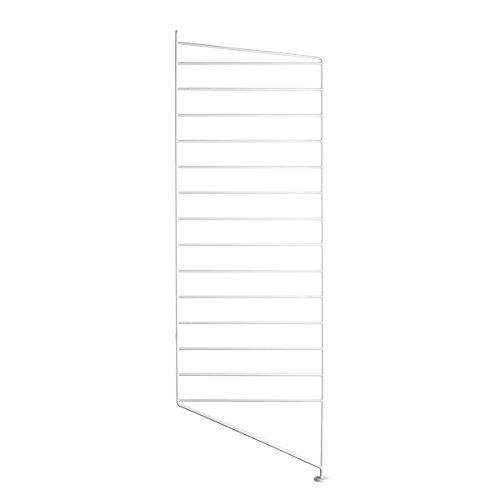 String - Bodenleiter Regal 85 x 30 cm, weiß