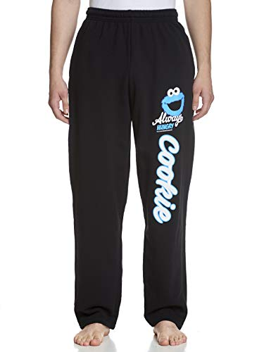 Sesamstraat Cookie Monster Sportive joggingbroek zwart