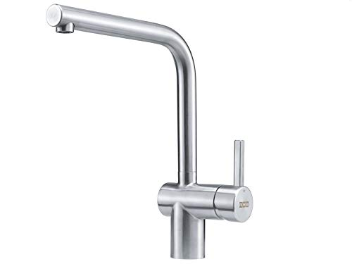 Franke Kitchen Sink tap Made Fixed spout Atlas NEO-Stainless Steel 115.0521.435, Grey